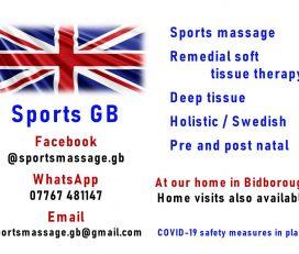 Sports GB Massage & Therapy